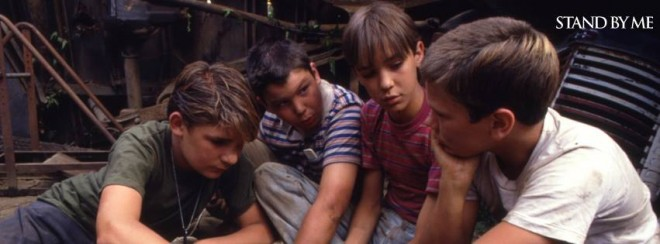 A still from 'Stand by Me' that is considered as one of the best movies made on friendship