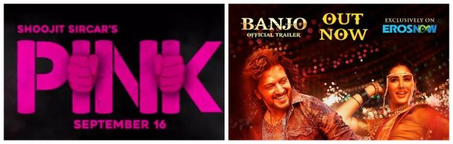 Pink and Banjo