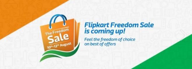 Flipkart Freedom Sale 2016