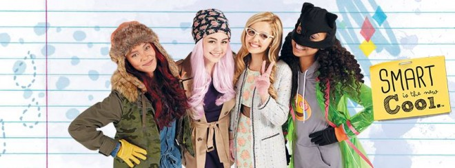 McKeyla and her friends in 'Project MC2'