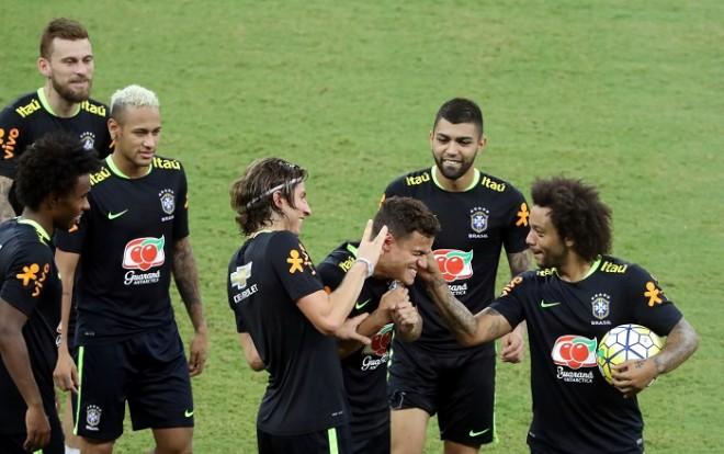 Brazil Neymar Coutinho