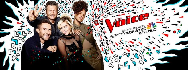 'The Voice US' Season 11 title card