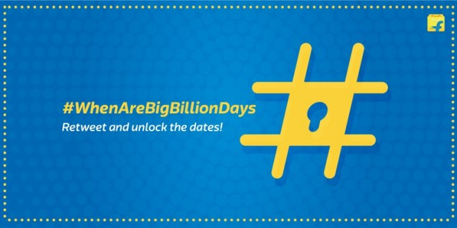 Flipkart Big Billion Day 2016 dates revealed