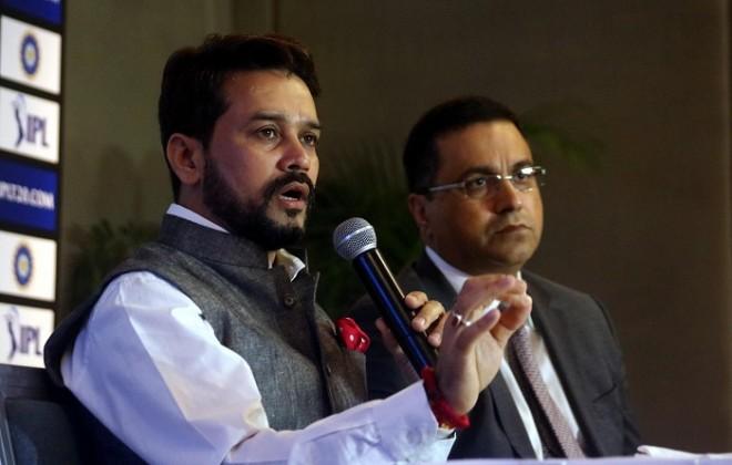Anurag Thakur BCCI president