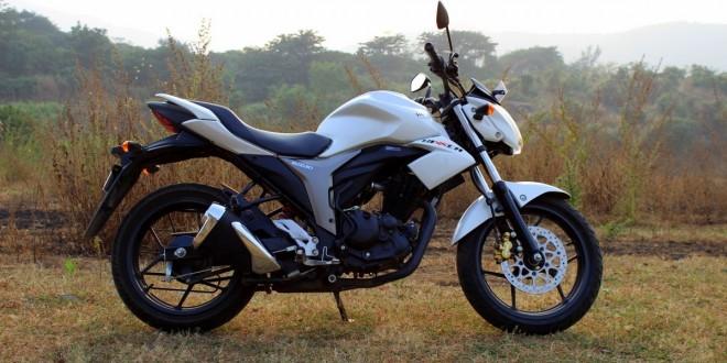 Suzuki Gixxer 150's White Body Colour Discontinued