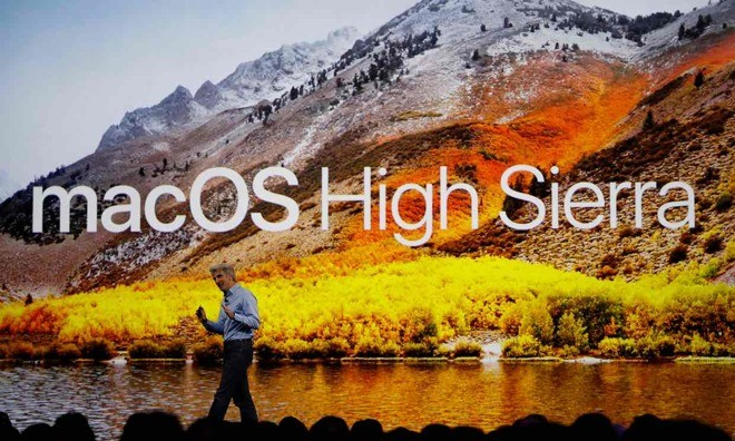MacOS High Sierra security flaw fixed