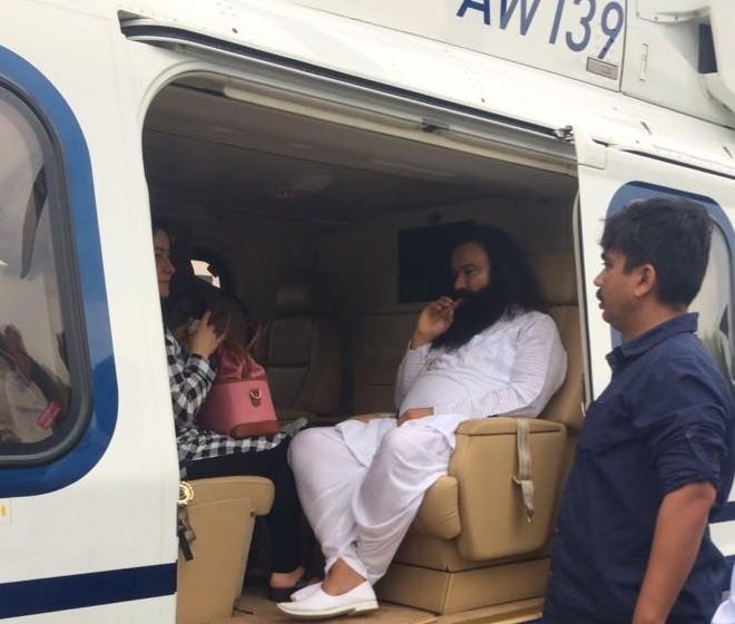 Ram Rahim in jail