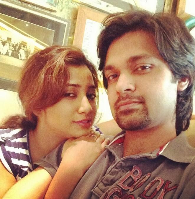 Shreya Ghoshal and Shiladitya