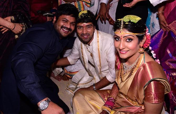 Manchu Manoj at Allari Naresh's Wedding