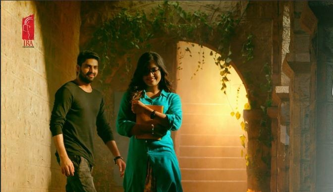 Naga Shourya and Rashmikas Mandanna in Telugu film Chalo