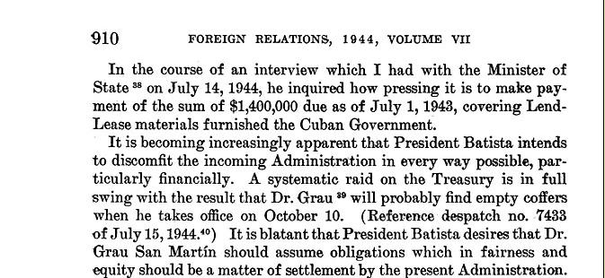 Mafia in Cuba