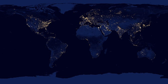 NASA Reveals Nighttime Views of Earth
