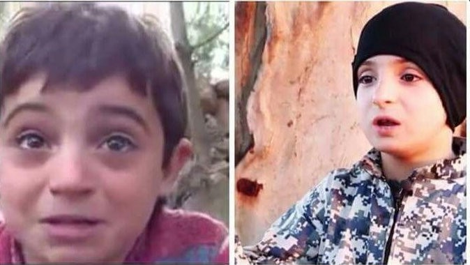 A Syrian boy who was featured in an humanitarian video two years back now seems to have joined Isis.
