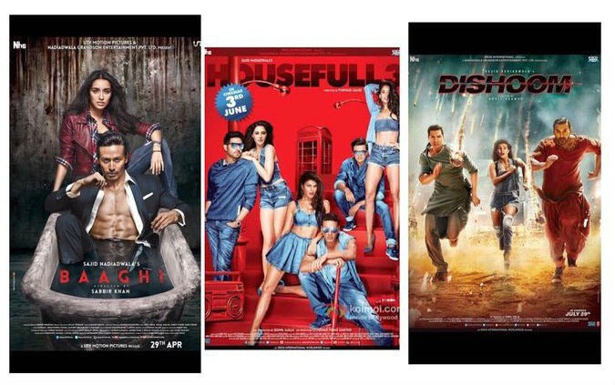 Sajid Nadiadwala,Sajid Nadiadwala hat-trick,Sajid Nadiadwala hits a hat-trick with Dishoom,Dishoom,Dishoom sucess,Tiger Shroff,Shraddha Kapoor