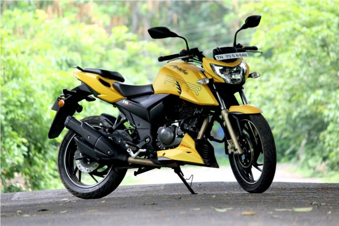 2017 Tvs Apache Rtr 160 In The Making With Design Inspired From