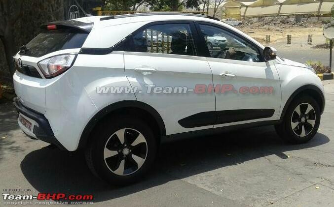 Launch Ready Tata Nexon Compact Suv Spotted Sans Camouflage