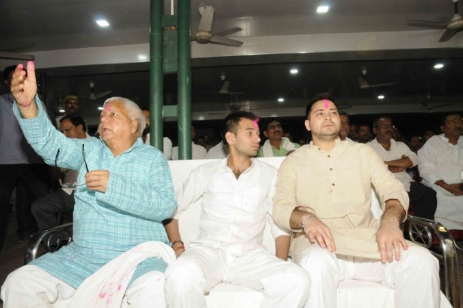 Left govt bungalow as Nitish unleashed ghosts in it: Tej Pratap Yadav