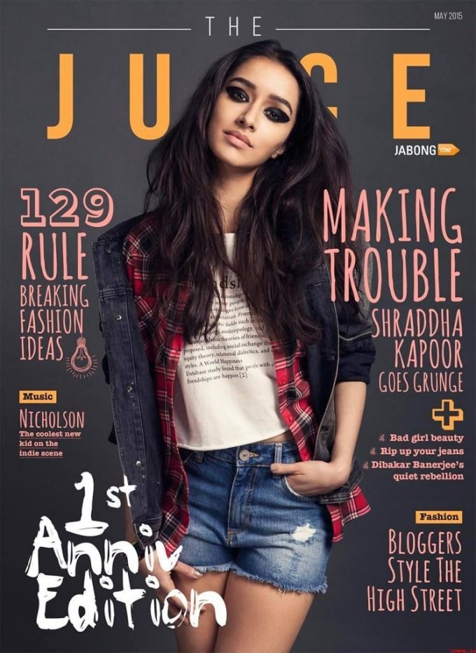 Shraddha Kapoor,actress Shraddha Kapoor,Shraddha Kapoor pics,Shraddha Kapoor images,Shraddha Kapoor photos,Shraddha Kapoor stills,Shraddha Kapoor on the Juice Magazine May 2015 Issue Cover,Juice Magazine May 2015 Issue Cover,Juice Magazine May 2015,hot Sh