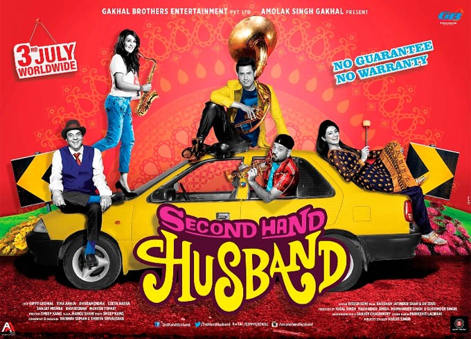 Second Hand Husband First Look Poster,Second Hand Husband,bollywood movie Second Hand Husband,Dharmendra,Gippy Grewal,Deepshikha,Second Hand Husband movie pics,Second Hand Husband movie stills,Second Hand Husband movie images