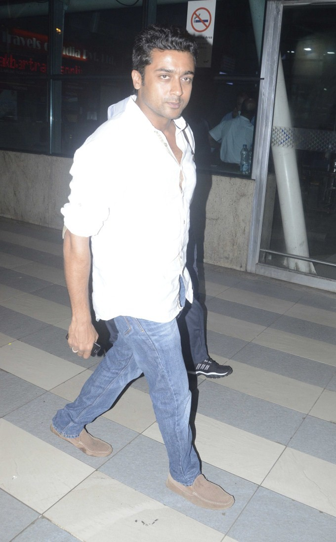 Suriya,Suriya snapped at Airport,actor Suriya,Suriya at Airport,Suriya latest pics,Suriya latest images,Suriya latest photos,Suriya latest stills