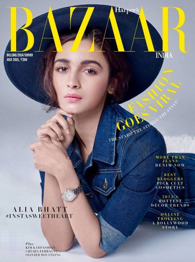 Alia Bhatt,Alia Bhatt Photoshoot for Harper's Bazaar July 2015 Cover,Alia Bhatt Photoshoot,Harper's Bazaar July 2015,Bazaar Magazine,Alia Bhatt Photoshoot for Harper's Bazaar Magazine,Alia Bhatt on Harper's Bazaar Magazine,actress Alia Bhatt,Alia Bhatt pi