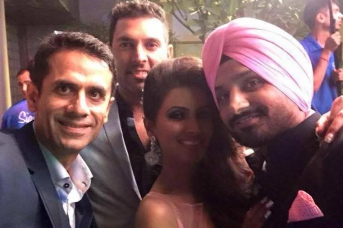 Harbhajan Singh,Harbhajan Singh wedding reception,Harbhajan Singh and Geeta Basra Grand Reception,Geeta Basra Grand Reception,Geeta Basra,harbhajan singh geeta basra wedding,Virat Kohli