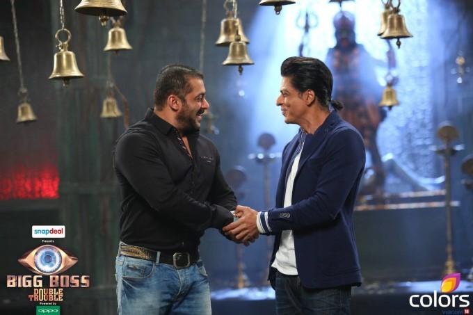 Salman Khan and Shah Rukh Khan,Salman Khan,Shah Rukh Khan,Karan Arjun,Bigg Boss Nau,Bigg Boss 9