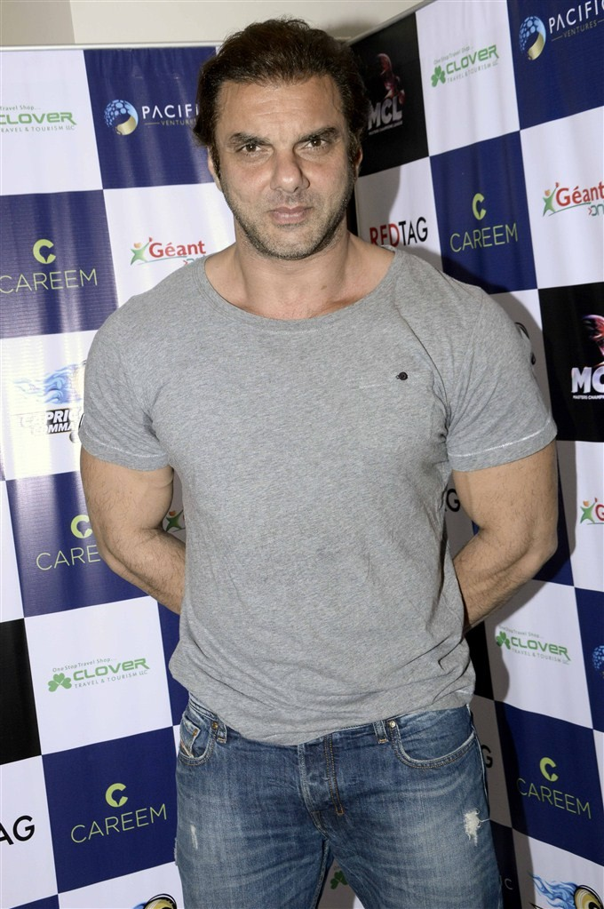 Sohail Khan,Capricorn Commanders event,Capricorn Commanders,Bollywood actor Sohail Khan,actor Sohail Khan,CCL,CCL 2016,CCl 6