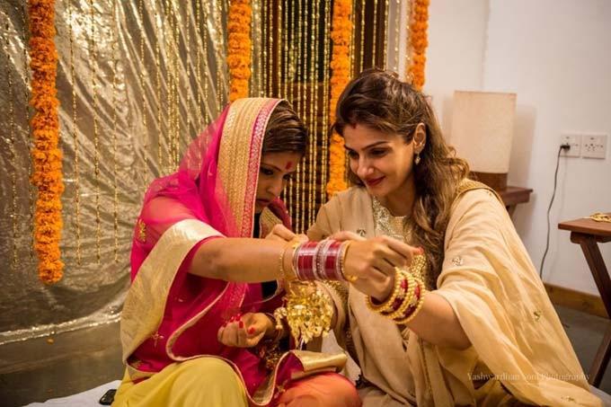 Raveena Tandon,actress Raveena Tandon,Raveena Tandon daughter Chhaya's Marriage,Raveena Tandon daughter Chhaya's Marriage photos,Raveena Tandon daughter Chhaya,Raveena Tandon daughter Chhaya wedding,Chhaya wedding,Chhaya wedding pics,Chhaya wedd