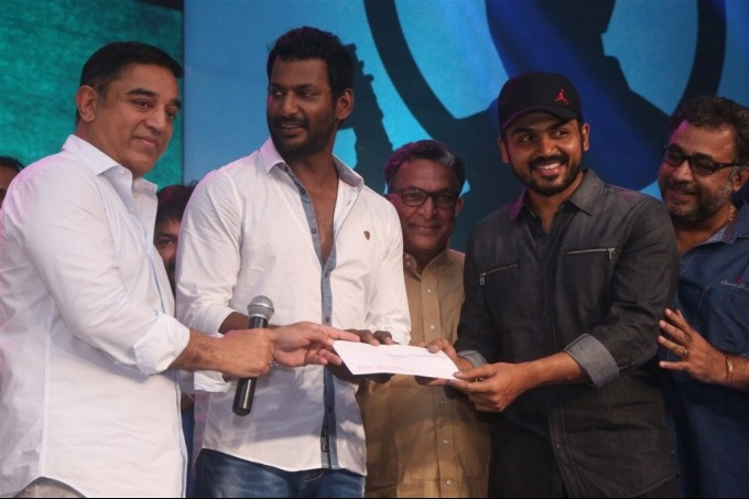Sabash Naidu,Sabash Naidu Movie Launch,Kamal Haasan,Shruti Haasan,Vishal,Nassar,Ilayaraja,Prabhu,Sabash Naidu Movie Launch pics,Sabash Naidu Movie Launch images,Sabash Naidu Movie Launch photos,Sabash Naidu Movie Launch stills,Sabash Naidu Movie Launch pi