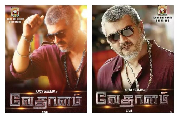 Ajith's New Looks in 'Vedalam'