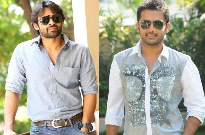Nithin and Sai Dharam Tej