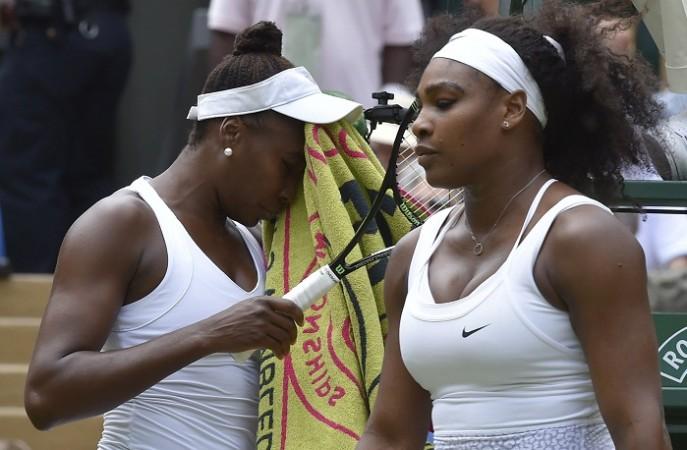 Serena Williams Venus Williams Wimbledon 2015 Fourth Round
