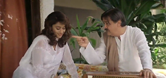 Madhuri Dixit and Deven Verma in