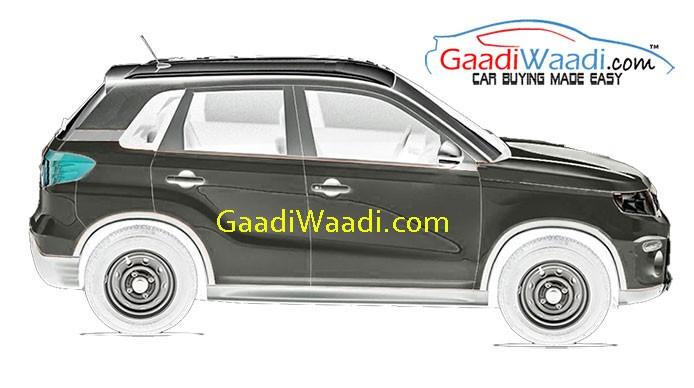 Maruti Suzuki Compact SUV YBA (XA Alpha) Spied