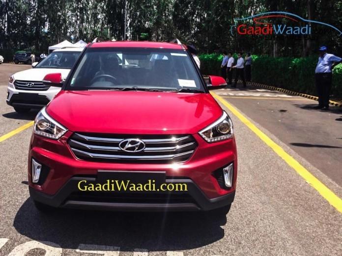Hyundai Creta Compact SUV front