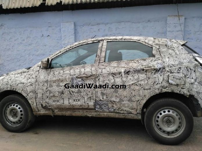 Tata Nexon Compact Suv Surfaces In New Spy Shots But When Is It
