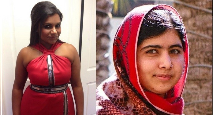 Mindy Kaling mistaken for Malala Yousafzai