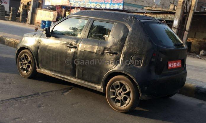 Maruti Suzuki Ignis continues testing in India