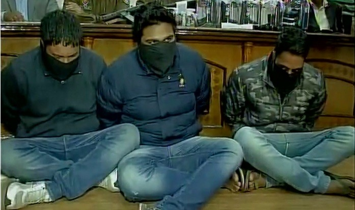 three arrested in Mohali