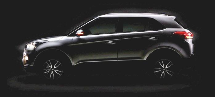 Hyundai Creta facelift teaser