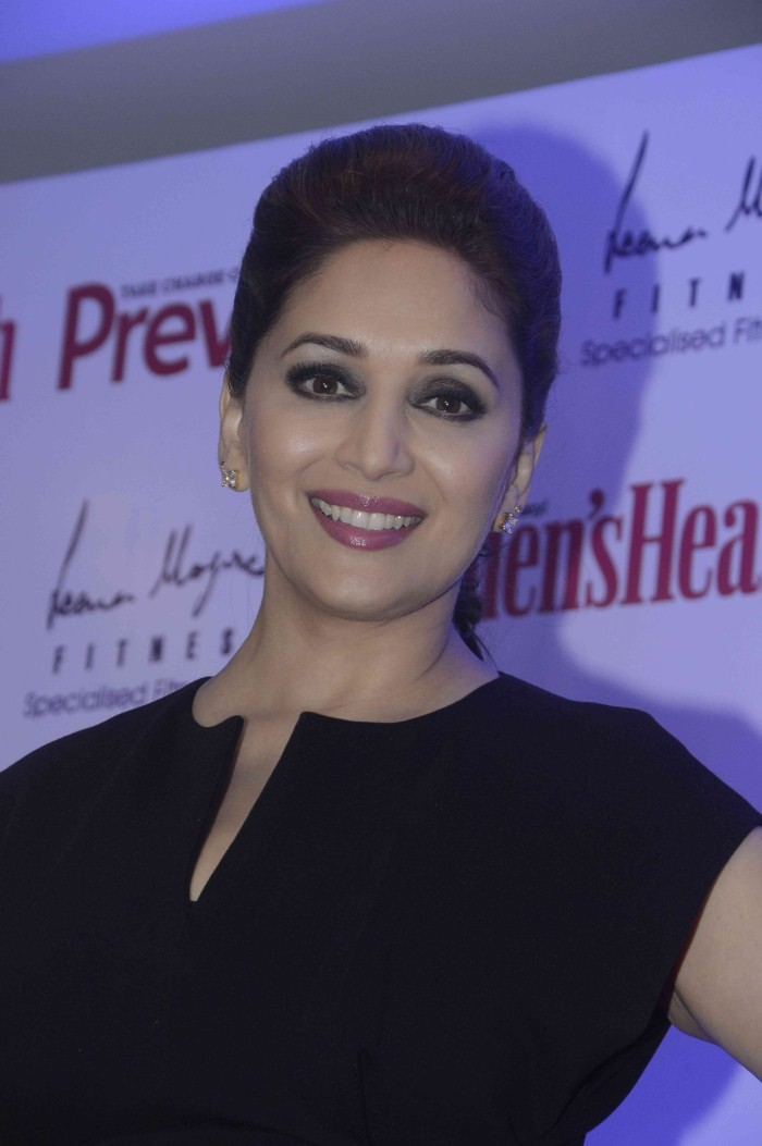 Madhuri Dixit,actress Madhuri Dixit,Madhuri Dixit launches Leena Mogre Book Total Fitness,Leena Mogre Book,Madhuri Dixit pics,Madhuri Dixit images,Madhuri Dixit photos,Madhuri Dixit stills,Madhuri Dixit hot pics,hot Madhuri Dixit