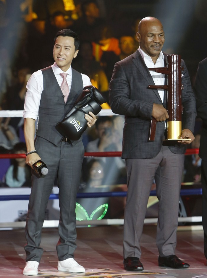 Mike Tyson,Boxing Champion Mike Tyson,Mike Tyson in Ip Man 3,Ip Man 3,Ip Man 3 movie stills,Ip Man 3movie pics,heavy weight world champion Mike Tyson,Mike Tyson pics,Mike Tyson images,Mike Tyson photos,Mike Tyson stills,press conference