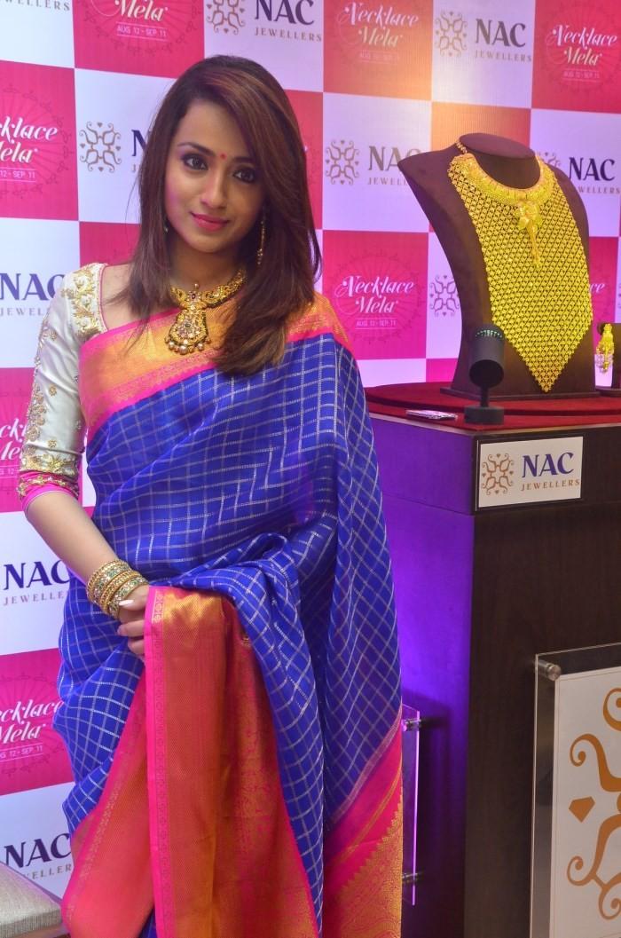 Trisha,Trisha inaugurates NAC Jewellers,Trisha Krishnan,NAC Jewellers Necklace Mela,actress Trisha,Trisha latest pics,Trisha latest images,Trisha latest photos,Trisha latest stills,Trisha latest pictures