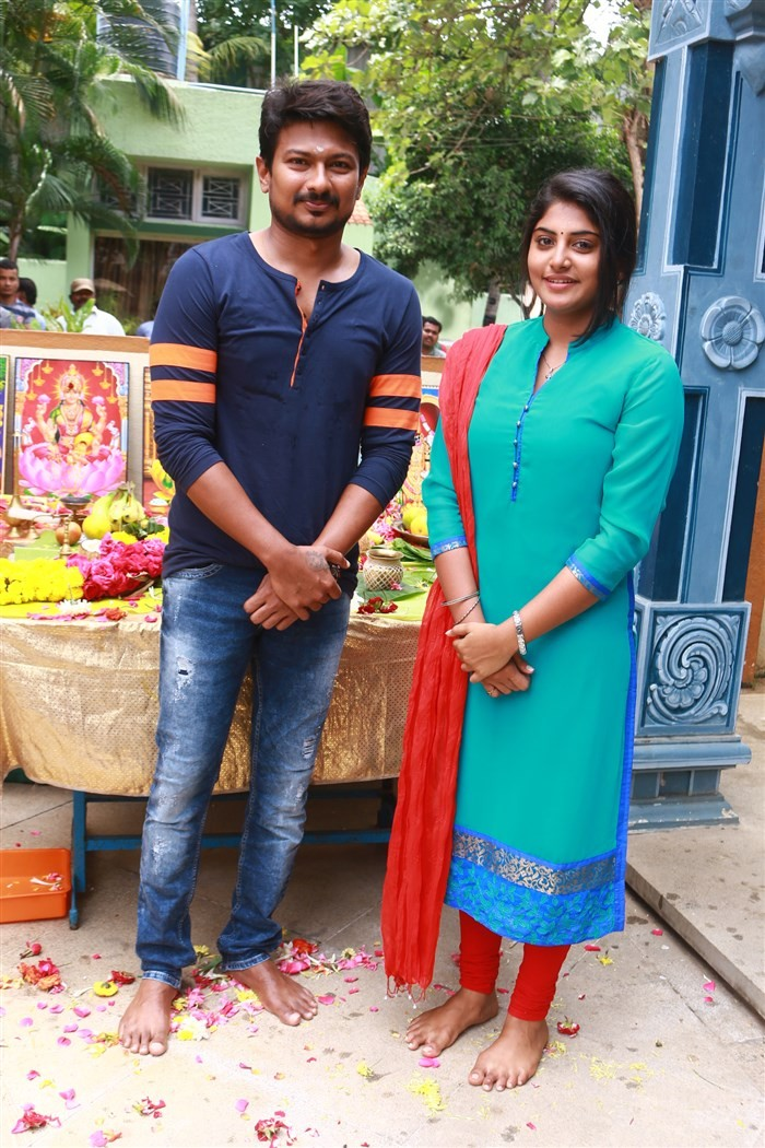 Udhayanidhi Stalin,Manjima Mohan,Udhayanidhi Stalin and Manjima Mohan,Udhayanidhi Stalin new movie,Udhayanidhi Stalin new movie launch,Gaurav Narayanan,Raju Mahalingam,Arvind Singh,RK Suresh