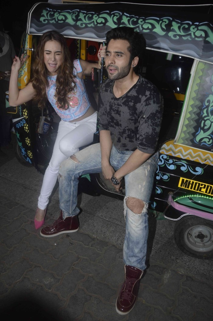 Welcome To Karachi Movie Promotion,Welcome To Karachi,Bollywood Movie Welcome To Karachi,Jackky Bhagnani,Lauren Gottlieb,Movie Promotion,event,bollywood event