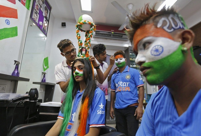 India Fans Pakistan World Cup