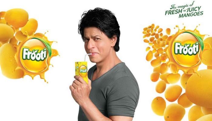 Shah Rukh Khan in Frooti Ad