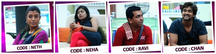 Chandan, RJ Nethra, Neha, Ravi Mooruru