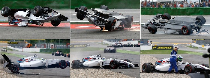 Massa accident German GP